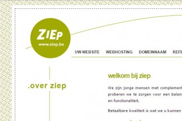 Ziep - webdesign en webhosting