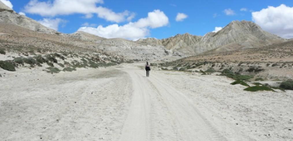 op reis in tibet